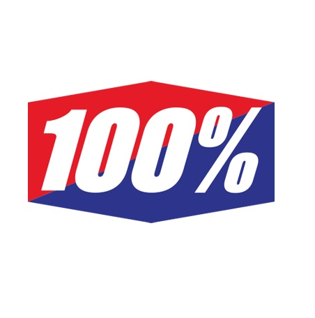 100% logo
